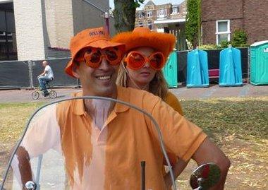 Patrick Visser and Keren Visser-Katz